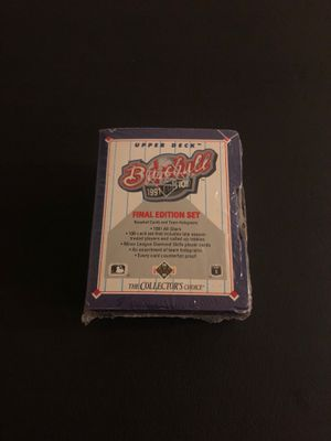 Baseball card set for Sale in Howell Township, NJ