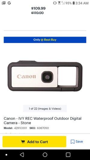 Canon outdoor camera for Sale in Greenville, SC
