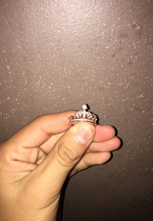 Crown Ring, Rose Gold for Sale in Chicago, IL