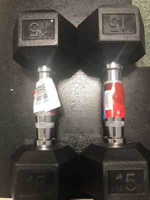 Dumbbells 15lb pair for Sale in Miami, FL