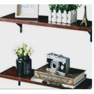 """Floating wall shelves Dimensions: 20.0""""Length × 6.0"""" width /(Brown walnut) (brand new for Sale in Ontario, CA"""