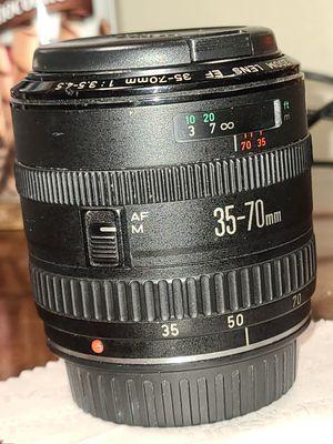 Canon EF 35-70mm AF lens || for Sale in Portland, OR