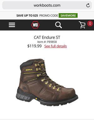 Caterpillar work boots for Sale in Dearborn, MI