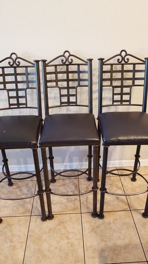 Metal bar stools for Sale in Goodyear, AZ