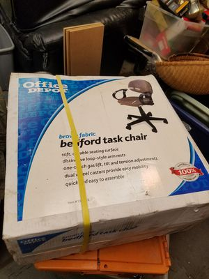 OFFICE DEPOT BEDFORD TASK CHAIR for Sale in Marysville, WA