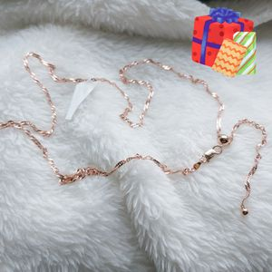 Holiday Gift 🎁 New rose gold plated chain for Sale in Coconut Creek, FL