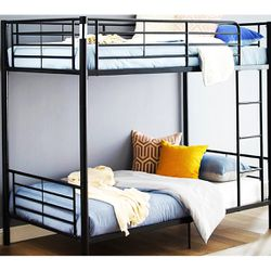 New!! Twin bed, twin bunk bed, bunkbed, twin bunkbed, twin iver twin bunkbed for Sale in Phoenix,  AZ