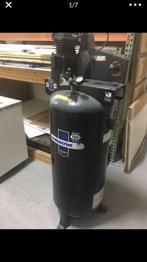 AIR COMPRESSOR TANK ONLY 60 Gal TANQUE DE COMPRESOR 60 gallon Compressor tank 2016' 175 psi CERTIFIED SANBORN MFG VERTICAL SURGE TANK for Sale in Hialeah, FL