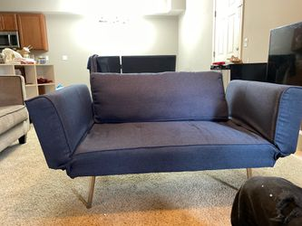 Futon couch (foldable) for Sale in Arnold,  MO
