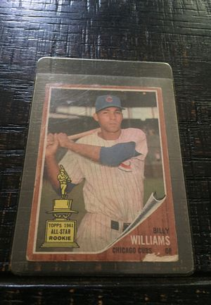 Topps 1962 Billy Willams Baseball card for Sale in Houston, TX