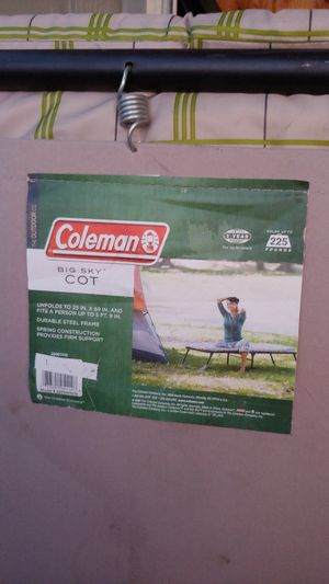 Coleman cot for Sale in Vancouver, WA