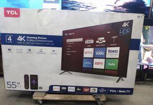 "55""TCL UHD SMART TV 4K ROKU for Sale in Las Vegas, NV"