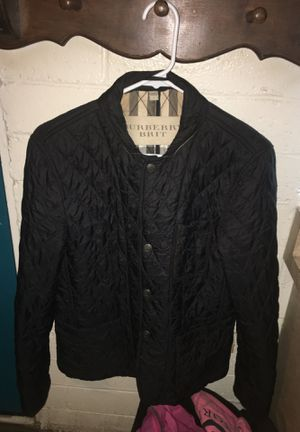 HALF OFF! BURBERRY BRIT MENS JACKET / size small for Sale in Apple Valley, CA