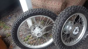 Rims and wheels for a motorcycle honda xr650 for Sale in Tampa, FL