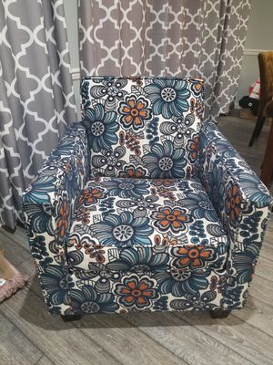 Navy sofa set & chair for Sale in South Brunswick Township, NJ