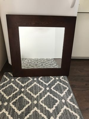 Pottery Barn Wood Mirror For In Santa Monica Ca