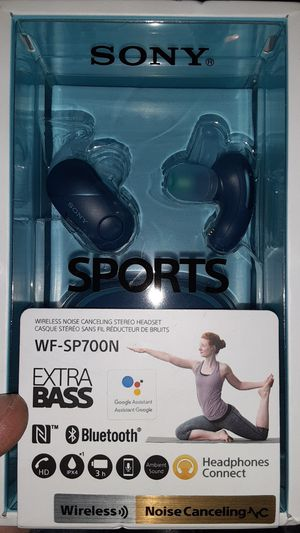 BRAND NEW SONY SPORTS WIRELESS HEADPHONES for Sale in Costa Mesa, CA