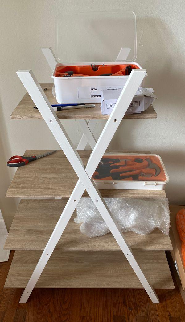 Bookshelf or shelf for shoes