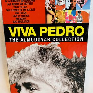 VIVA PEDRO - The Almodovar Collection DVD Set 9 Discs Tested Rare HTF OOP CIB for Sale in Orting, WA