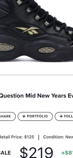 """IVERSONs """"Question Mid NYE Shoe"""" Sz12 for Sale in Marietta,  GA"""