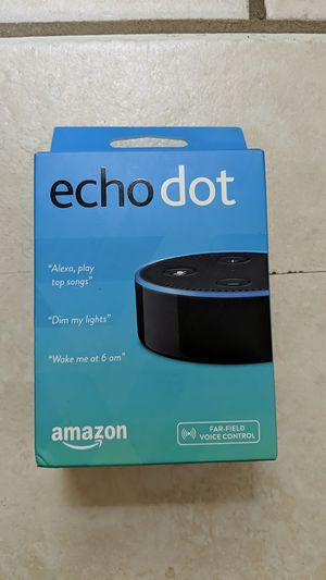 Brand New Echo Dot - 2nd gen for Sale in Greensburg, PA