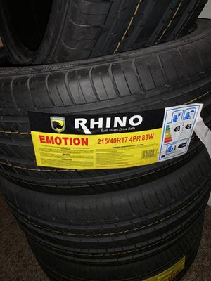 JNC rims and Rhino tires for Sale in TWN N CNTRY, FL