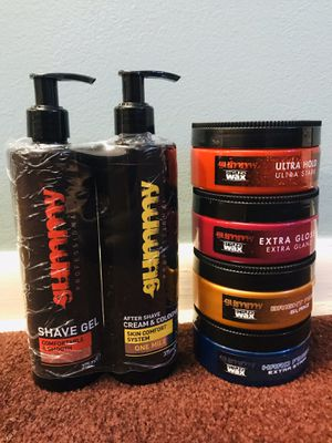 Gummy shave gel, after shave and styling wax for Sale in Philadelphia, PA