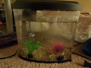 5 gallon top fin fish tank for Sale in Sacramento, CA