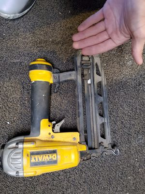 Dewalt nail gun just need fitting on air line for Sale in Durham, NC