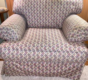 Chair and Ottoman GREAT CONDITION $40 obo for Sale in Plantation, FL