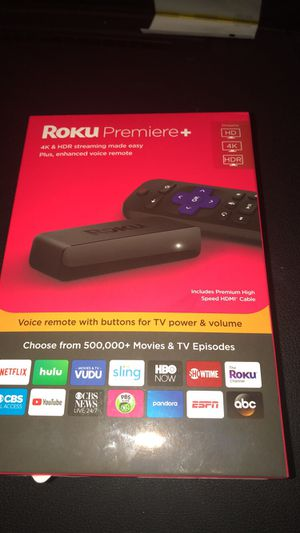 Roku PREMIER PLUS for Sale in Baltimore, MD