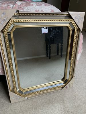 gold mirror for Sale in Bellevue, WA