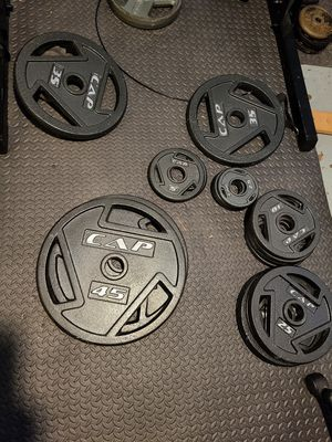 155 lb Weight Set for Sale in Chicago, IL