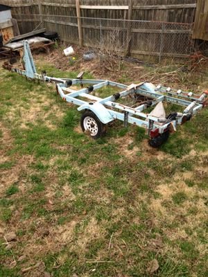 Boat trailer. Has title - no trades. $375.00 for Sale in Fairmont, WV