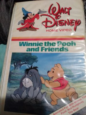 Winnie the Pooh and Friends vintage Disney VHS movie for Sale in Mayfield, KY