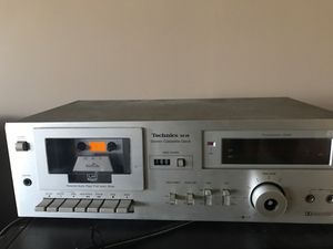 Technics m18 stereo cassette deck. for Sale in Hershey, PA
