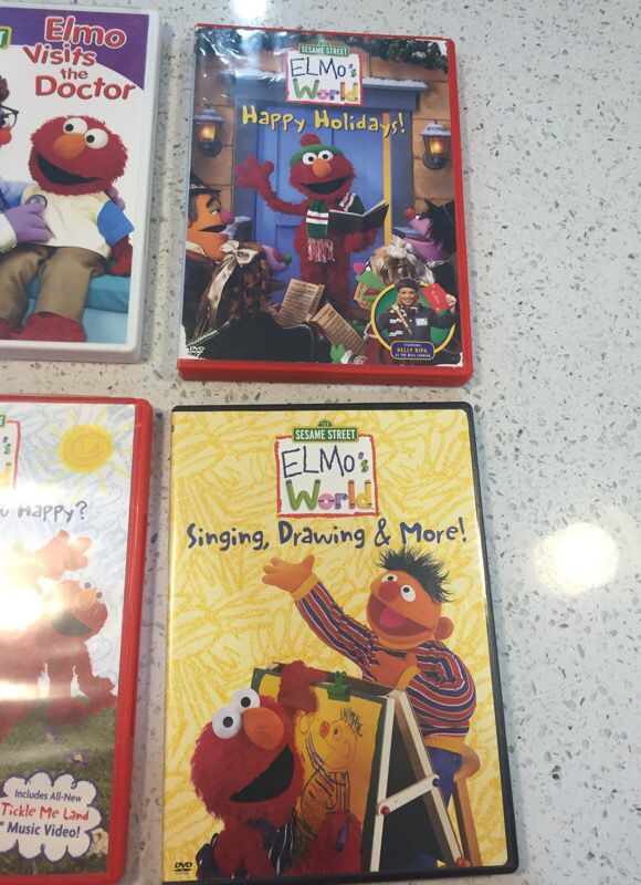 Elmo S World Dvds For Sale In Chicago Il Offerup