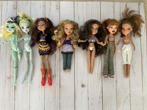 Monster high Bratz dolls for Sale in Elyria, OH