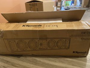 Klipsch wireless center speaker RW-34C for Sale in Knoxville, TN