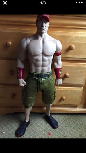 2 1/2 action figure John cena for Sale in Commerce City, CO