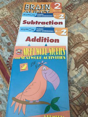 FOUR Workbooks 2 grade (see description for details) for Sale in Naples, FL