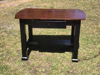 Antique Tiger Oak Desk/Table Refinished for Sale in Hammonton,  NJ