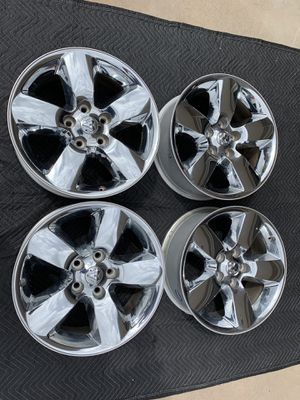 Ram 1500 20inch Chrome Rims OEM for Sale in Littleton, CO