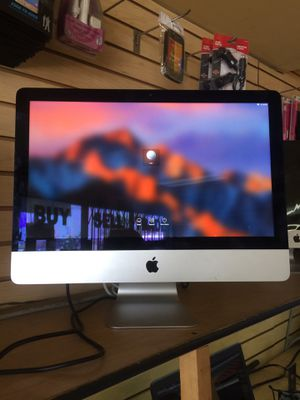 I mac DESKTOP FOR SALE . Mint condition , GREAT PRICE EASY FINANCING NO CREDIT NEEEDED for Sale in Fontana, CA