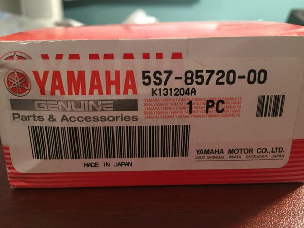 New Yamaha motorcycle or boat oil gauge part