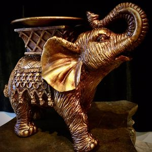 Beautiful Elephant sculpture candle holder H7xL9xW5 inch for Sale in Chandler, AZ