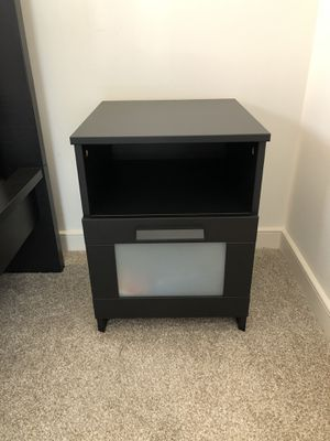 Ikea BRIMNES nightstand, black for Sale in Chevy Chase, MD