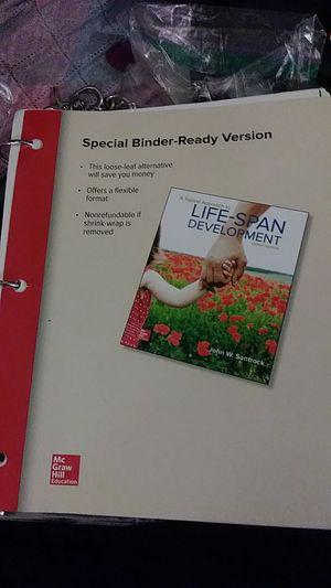 Life Span Development Textbook for Sale in Corona, CA