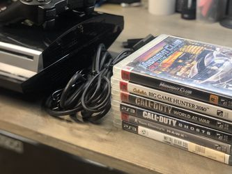 PS3 Bundle With 2 New Remotes + 6 Games for Sale in Duarte,  CA
