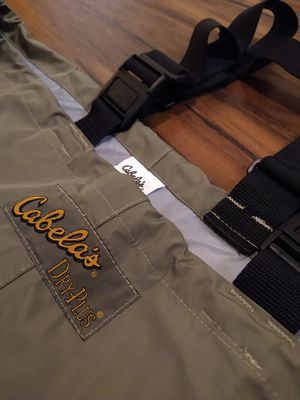 Cabela's Dry Plus Waterproof Waders for Sale in Tacoma, WA